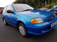 Suzuki Swift 1.0 GLS+ MOT AUG 17++17 STAMPS+IDEAL FIRST CAR FOR SOMEONE+3 MONTH WARRANTY INCLUDED