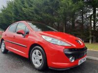 AUGUST 2009 PEUGEOT 207 VERVE 1.4 PETROL 5DOOR LOVELY LOW MILEAGE EXAMPLE ONLY 51k 1YEARS MOT OCT 19