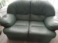 3 Piece Leather Suite - excellent condition