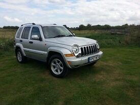 2007 JEEP CHEROKEE, Diesel . Automatic , 4x4 , Low Mileage