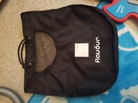 Icandy carry cot plus changing bag
