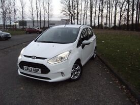 2013 62 FORD B-MAX 1.4 ZETEC 5d 89 BHP **** GUARANTEED FINANCE ****PART EX WELCOME