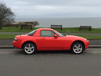 Mazda MX5 - Very low mileage - very good condition - detachable hard top