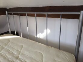 Double bed available with or without mattress