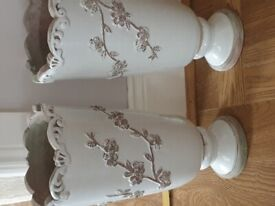 LAURA ASHLEY CANDLE HOLDERS AND DECORATIVE ITEMS