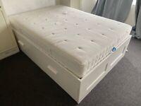 Bed Frame + Mattress (standard double)