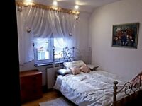 Lovely double room to rent in a quiet house with 1 other person only
