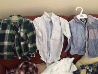 Toddler boys clothes bundle size 12-18 months