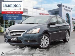 2015 Nissan Sentra 1.8 S | TRADE-IN | LOW KMS | LEATHER | NAV |