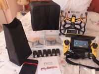 Parrot Bebop DRONE & SKY CONTROLLER 1080p HD (drone is new unused) Mint Condition No crashes!