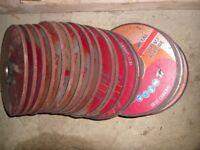 20 x 7 inch (180 x 6 x 22.23) grinding discs