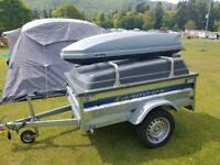 LIDER CAMPING TRAILER + VANGO AIRBEAM KESWICK 600DLX TENT + MANY MORE ACCESSORIES