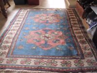 Antique Large Turkish Rug 100% Wool Very beautiful.