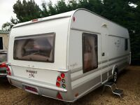 tabbert caravan 560 vivaldi excel (2010) like hobby and fendt