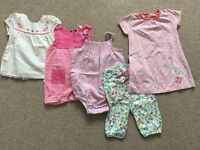 Bundle Of Summer baby girl clothes 6-9