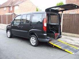 Fiat Doblo Dynamic Multi-jet Diesel.2008.Wheelchair accessible. Low mileage. PRICE REDUCED