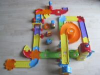 Vtech toot toot track and train station
