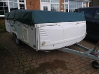 WANTED PENNINE, CONWAY, TRIGANO, CAMPLET TRAILER TENTS . FOLDING CAMPERS