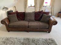 Tetrad Grand Hudson 4 Seater Sofa & Chair