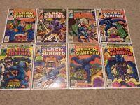 Black Panther #1-15 | Complete Vol 1 (1977) | 1st Prints | Marvel | FN/VFN