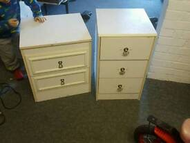 Drawers storage white furniture wood