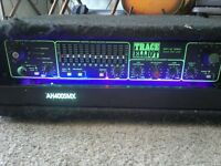 Trace Elliot AH350smx base amp head. 350watts rms 700watts peak. Low and Hi compression, 12 band EQ,
