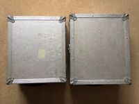 2 X Turntable / Deck Flight Cases. Suitable For Technics 1200 / 1210