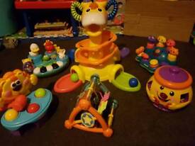 Baby Toy Bundle 6 items 6-36 months