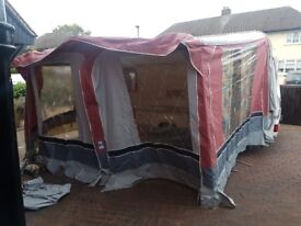 Caravan awning like new