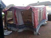 Caravan awning like new