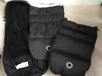Bugaboo Universal Footmuff All Seasons with two different covers