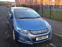 Excellent Condition, Sleek and Economical – Honda Insight 2010 Hybrid car for £5750