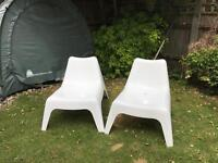 Ikea garden chairs (price for 2 chairs).