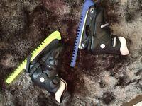 Kids SFR Ice Hockey Boots Skates, Size 9-12