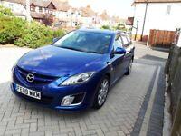 Mazda 6 Estate 2009 Metallic Blue (Sport 2.2d 185bhp)