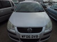 VW POLO E553 Door Hatchback, 1.2 Petrol, 60,000 miles, Service History, MOT May 2018, 2006-06 plate