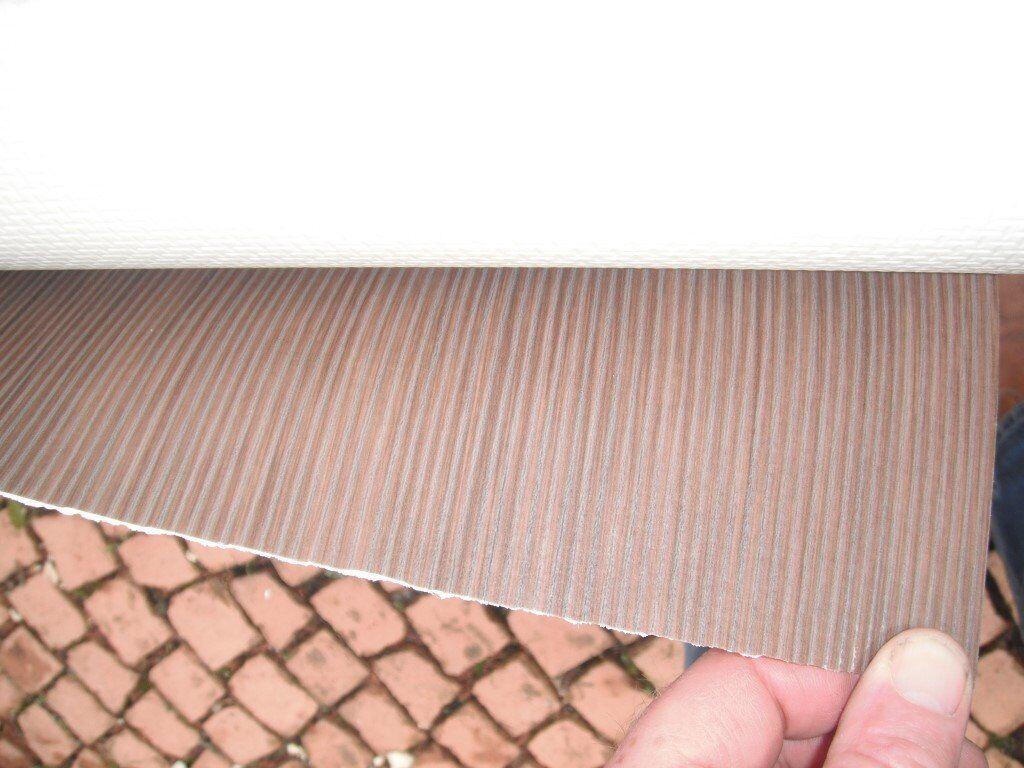 Vinyl flooring Brown Stripe, perfect, Brand new, 2m x 2m