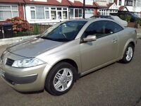 RENAULT MEGANE 1.6 AUTOMATIC CONVERTIBLE PRVILAGE LOW LOW MILES GARAGED MINT CONDITION