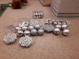Bundle of christmas decoration