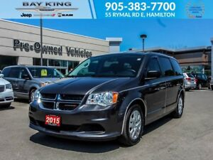 2015 Dodge Grand Caravan SXT, STOW N'GO, A/C, PWR WINDOWS/LOCKS,