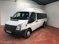 2012 TRANSIT MINI BUS 17 SEATER NO VAT