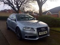 Audi A3 s line 2009 2.0 tdi facelift sportback 5 dr full history swaps px bmw gti seat vxr st mps