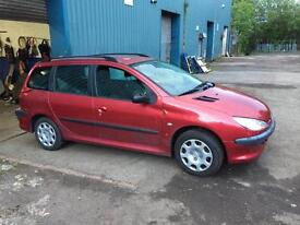 Peugeot 206sw breaking for spares