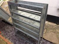 Van racking, 3 sizes available, shelving, storage etc
