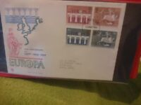 STAMPS - FIRST DAY COVERS x 120 - UK - IN 3 ALBUMS - 1960s to 1980s.
