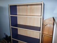Billy Bookcase for sale - with adjustable shelves