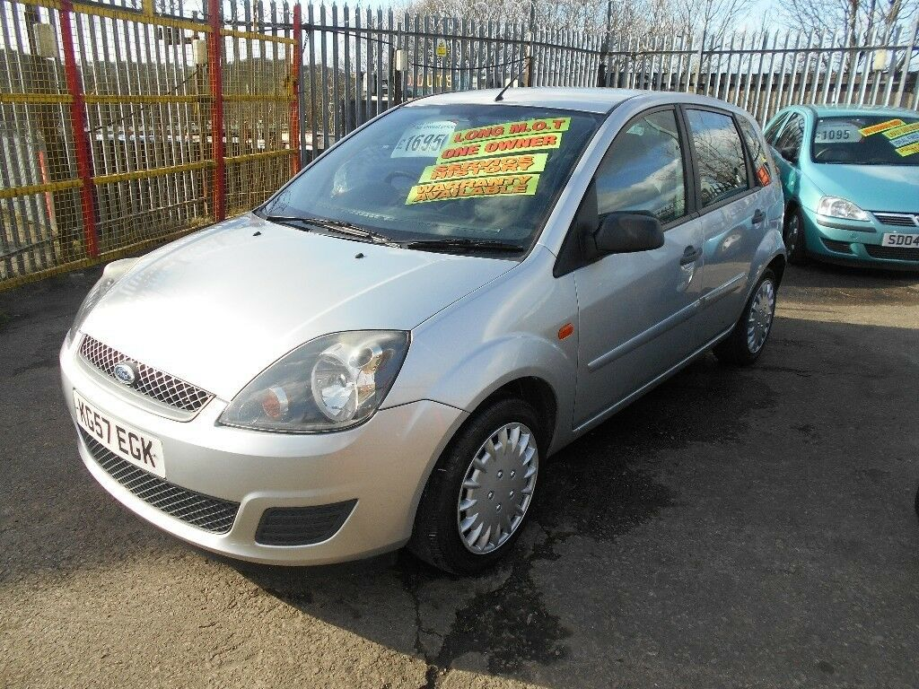 Ford Fiesta 1 4 Style 5dr 2007 Facelift Model 12 Months Mot On Purchase Average Miles Low Insurance