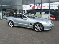 2003 03 MERCEDES-BENZ SL 5.0 SL500 2d AUTO 306 BHP **** GUARANTEED FINANCE ****