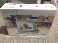 "NEW ATMT Reflection 7"" Digital Photo Frame"