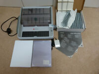 FREE - Rexel Binder WB706e (not working has power) with stationery (as pics)